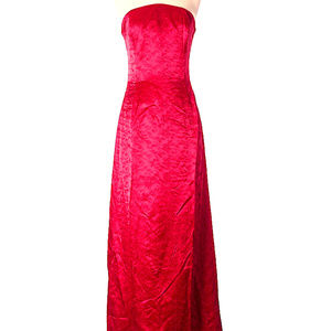 Gorgeous red evening gown